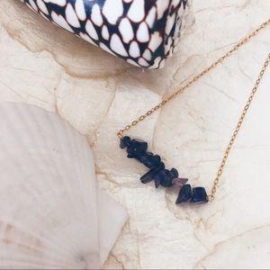 Jewelry - Amethyst Bar Necklace